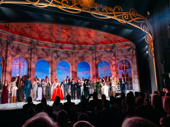 Congrats to the cast of Broadway's Anastasia on a magical opening night. See the musical at the Broadhurst Theatre.