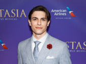 It's so great to have Derek Klena back on Broadway in Anastasia.