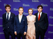 Six Degrees of Separation's Cody Kostro, Keenan Jolliff, Sarah Mezzanotte and Ned Riseley clean up nice.