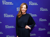 Six Degrees of Separation's Allison Janney strikes a pose.