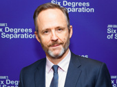 Six Degrees of Separation's John Benjamin Hickey snaps a pic.