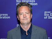 Emmy nominee and The End of Longing scribe and star Matthew Perry hits the Broadway circuit.