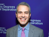 Watch What Happens Live host Andy Cohen is really making the Broadway opening rounds!