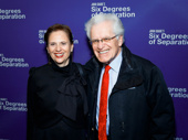 Four-time Tony winner Jerry Zaks and his wife Jill Rose attend the Broadway opening of Six Degrees of Separation.