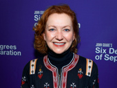 Tony winner Julie White attends Six Degrees of Separation's Broadway opening.