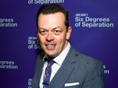 Tony winner Simon Stephens attends the Broadway opening of Six Degrees of Separation.