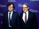 Nothing like old friends! Oscar winner Kenneth Lonergan and Tony winner Matthew Broderick step out for Six Degrees of Separation's opening night.