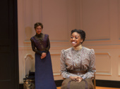 Laurie Metcalf and Condola Rashad in A Doll's House, Part 2 .*Photo of Original Broadway Cast
