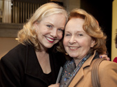 Director/choreographer Susan Stroman and Present Laughter's Kate Burton snap a sweet pic.(Photo: Chasi Annexy)