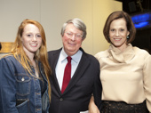 A bevy of stars recently stepped out to celebrate Lincoln Center Theater's Artistic Director André Bishop. Here's a shot of the evening's honoree with his daughter Katie Bishop-Manning and stage and screen star Sigourney Weaver.(Photo: Chasi Annexy)