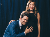 Corey Cott and his wife Meghan.