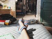 Two-time Tony winner toes! Sutton Foster kicks up her heels on the set of Younger. We can't wait to watch season four beginning on June 28 on TV Land!(Photo: Instagram.com/suttonlenore)