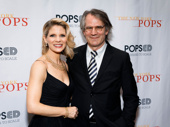 Together again! Kelli O'Hara and Bartlett Sher hit the red carpet.