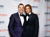 New York Pops conductor Steven Reineke and his husband Eric Gabbard snap a pic.