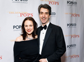 Theater couple Georgia Stitt and Jason Robert Brown gussy up for Carnegie Hall.