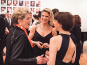 We want to be part of this gabfest! Marin Mazzie, Kelli O'Hara and Judy Kuhn catch up.