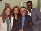 Fleet Street's getting a lot of visitors! Sierra Boggess and Chip Zien recently caught Carolee Carmello and Norm Lewis in the Barrow Street Theatre production of Sweeney Todd. As far as we've heard, they haven't been turned into meat pies.(Photo: Instagram.com/caroleecarmello)