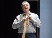 Nathan Lane takes the stage as Roy M Cohn in London's stirring production of Angels in America.(Photo: Helen Maybanks)
