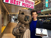 Congrats to Andy Karl and Groundhog Day's entire company on a lucky seven Tony nominations! So—does this mean we get to help you finish that cake again and again?(Photo: Instagram.com/raymondjlee)