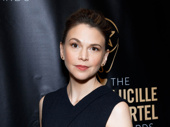 Sweet Charity Lucille Lortel nominee Sutton Foster hits the red carpet.