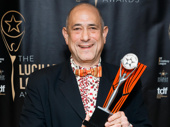 David Dorfman received the Lucille Lortel award for choreographing Indecent.