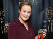 Oslo's Jennifer Ehle garnered the award for Outstanding Lead Actress in a Play.