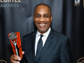 Stage and screen fave Joe Morton earned the award for Outstanding Lead Actor in a Play for his performance in Turn Me Loose.