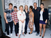 Matt Shively, Noah Galvin, Martha Plimpton, Rebecca Luker, Ariana DeBose, Keith Carradine and Cecily Strong all recently participated in Broadway Acts for Women at 54 Below. Proceeds benefitted A is For in its mission to protect reproductive rights.(Photo: Emilio Madrid-Kuser)