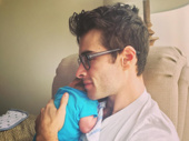 Cuteness overload! Bandstand frontman Corey Cott snuggles up with his son Elliott. We feel a new favorite post-show ritual coming on.(Photo: Instagram.com/naponacott)