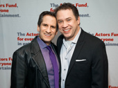 Seth Rudetsky and James Wesley attend the Actors Fund Gala.