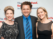 Broadway pals Marin Mazzie, Jason Danieley and Rebecca Luker snap a sweet pic.
