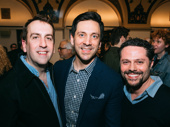 The Golden Apple's creative dream team: music director Rob Berman, director Michael Berresse and choreographer Joshua Bergasse.