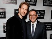 War Paint's Tony-nominated set designer David Korins takes a photo with Michael Greif.