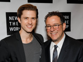 Next to Normal original star Aaron Tveit also suited up to celebrate. Congrats to Michael Greif!