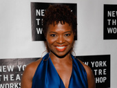 LaChanze struts her stuff on the red carpet. Greif directed her in If/Then.
