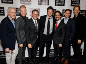 Music makers gather to celebrate director Michael Greif: War Paint's Scott Frankel, Dear Evan Hansen's Justin Paul and Benj Pasek, Next to Normal's Tom Kitt, Dear Evan Hansen's Alex Lacamoire and War Paint David Korins.