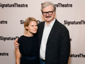 Celia Keenan-Bolger steps out to support her husband John Ellison Conlee's opening night in Venus.