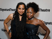 Venus' scribe Suzan-Lori Parks and star Zainab Jah get together.