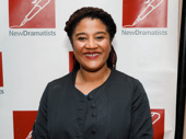 Sweat's Tony-nominated and Pulitzer Prize-winning scribe Lynn Nottage strikes a pose.