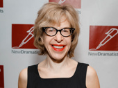 Charlie and the Chocolate Factory funny gal Jackie Hoffman serves a red lip.