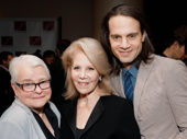 This year's New Dramatists Awards honored Indecent scribe Paula Vogel and producer Daryl Roth. The honorees snapped a pic with Roth's son and fellow mega-producer Jordan.