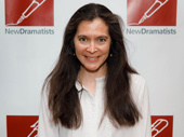 Tony winner Diane Paulus attends the New Dramatists Awards luncheon.