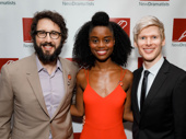 The Great Comet Tony nominees Josh Groban, Denée Benton and Lucas Steele take a sweet group shot.
