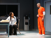 Tamara Tunie as Gloria and James Badge Dale as Rick in Building the Wall.