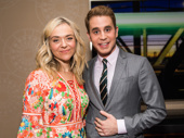 Dear Evan Hansen Tony nominees Rachel Bay Jones and Ben Platt get together.