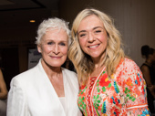 Powerful theater women! Glenn Close and Rachel Bay Jones are ready for their close-up.