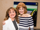 Anastasia standout Caroline O'Connor and Hello, Dolly! songbird Kate Baldwin get together.