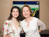 Present Laughter's Tedra Millan and Kate Burton get together.