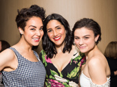 Fiddler on the Roof reunion! Alexandra Silber, Samantha Massell and Melanie Moore get together.