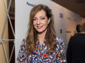 Six Degrees of Separation's Allison Janney works it.